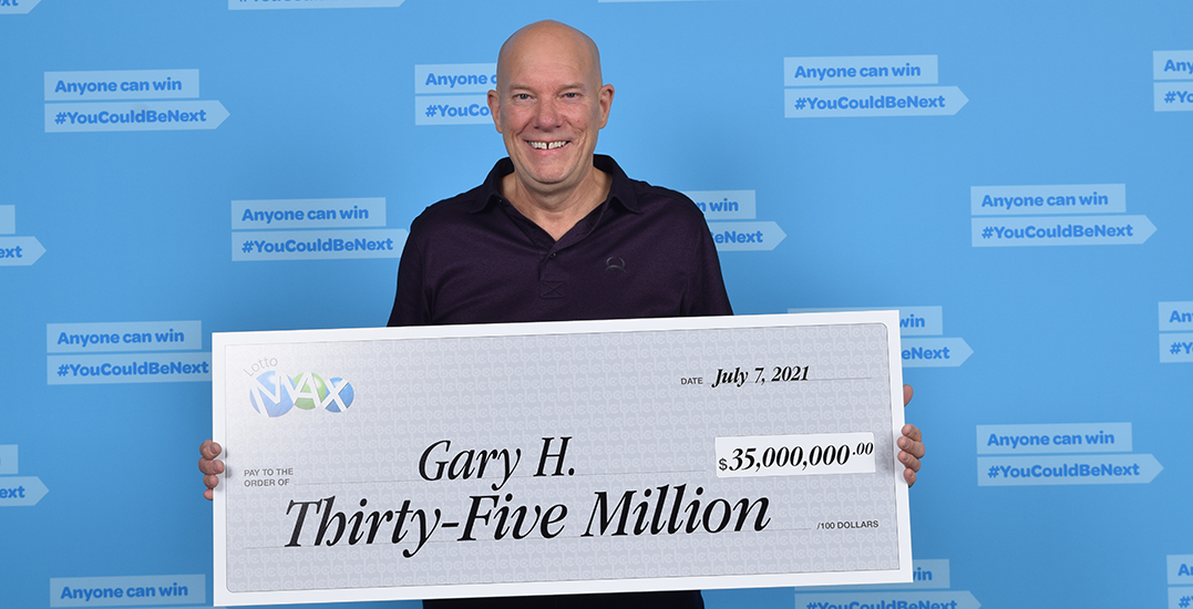 """Tears of joy: BC's $35 million Lotto Max winner """"cried for about 15 minutes"""""""