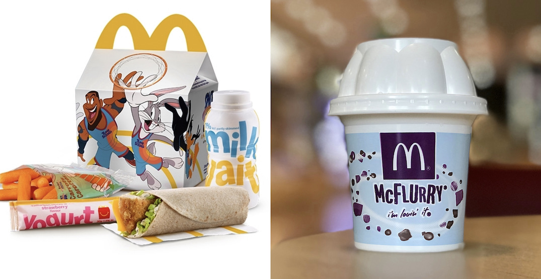 McDonald's just launched new Space Jam-themed menu items