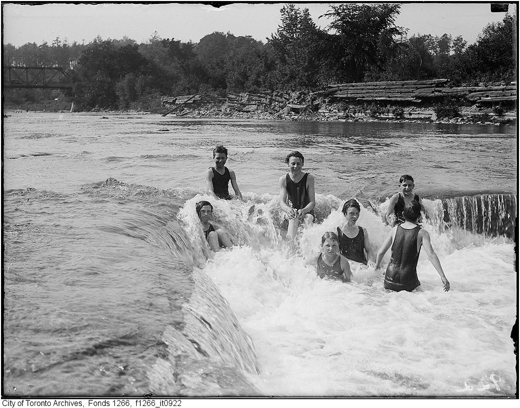 toronto vintage summertime photos