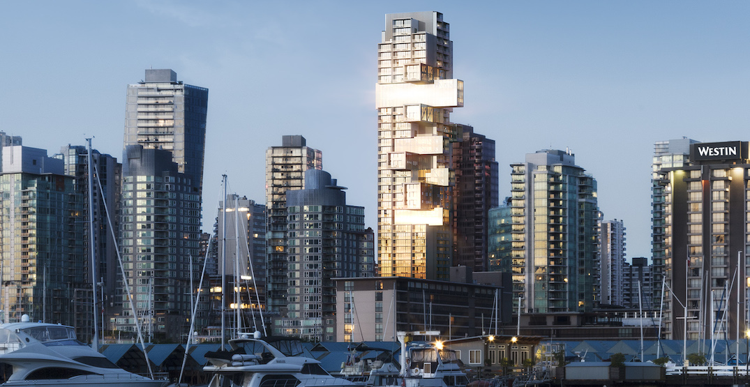 """Striking """"Jenga"""" condo tower in downtown Vancouver moving forward to launch"""
