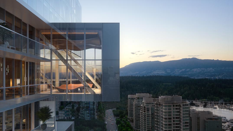 Fifteen Fifteen 1500 West Georgia Street Vancouver Bosa Properties Jenga Tower