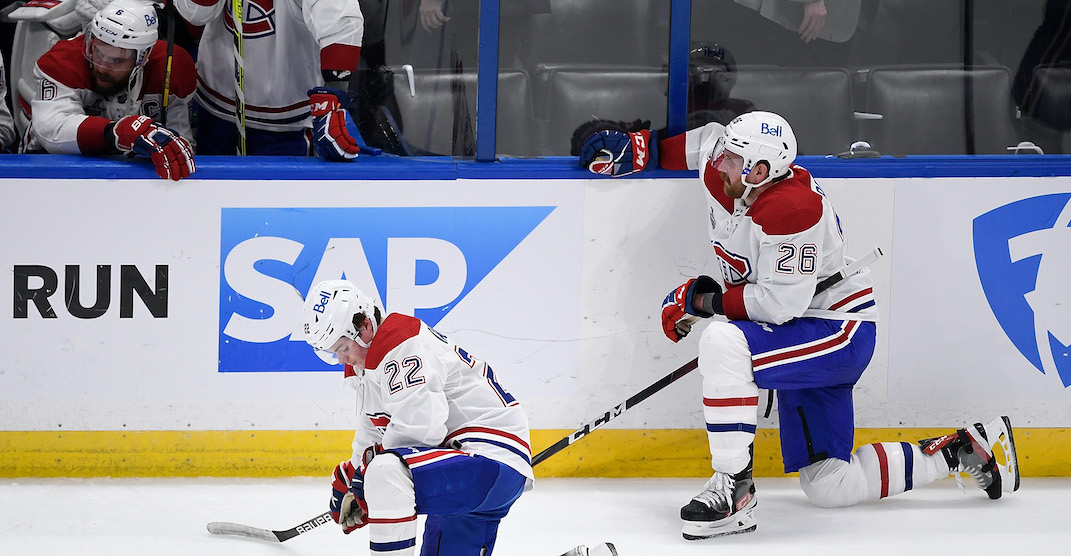 Outpouring of support from fans follows Canadiens Stanley Cup loss
