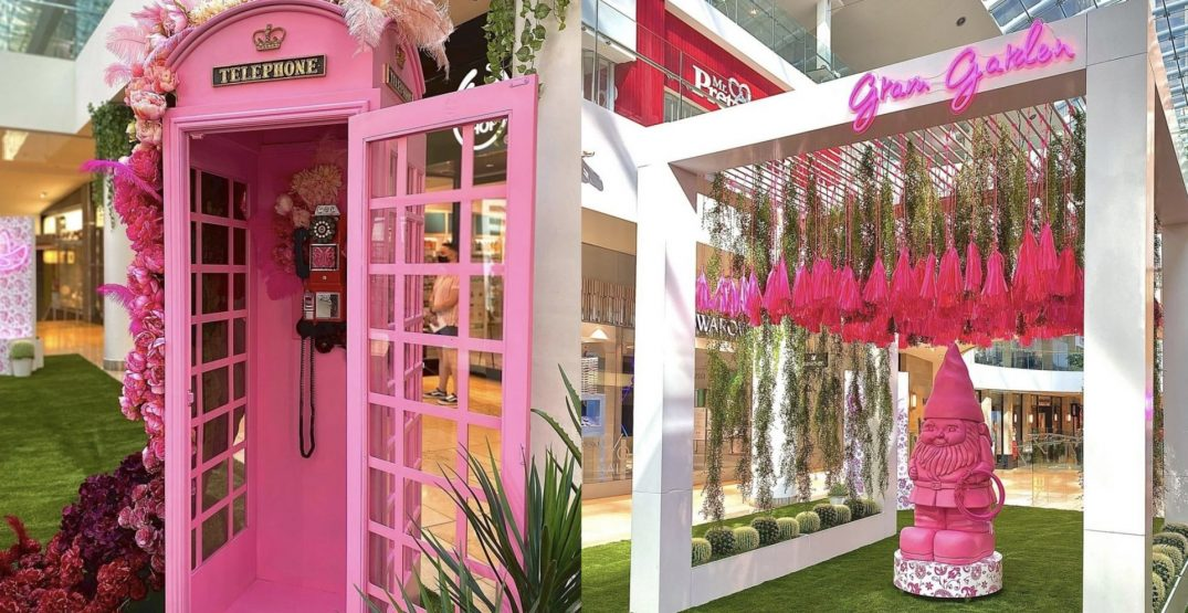 A new pink country-themed Instagram garden just launched in Calgary