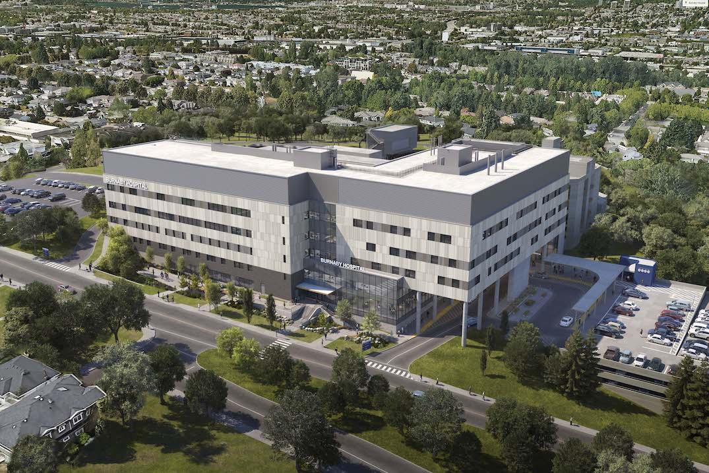 burnaby hospital design