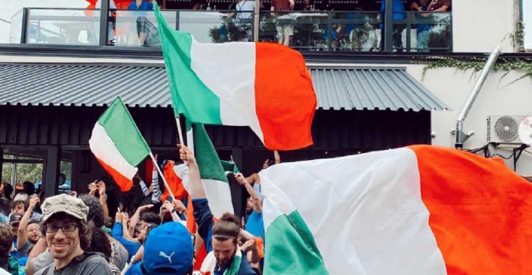 Toronto's Little Italy was popping off for Euro 2020 Final win