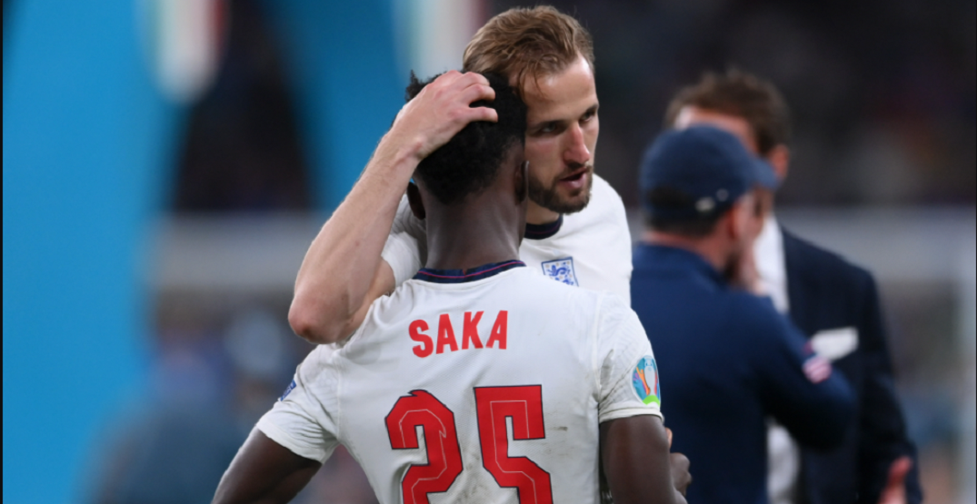 """England """"disgusted"""" at racism directed at their players after Euro 2020 loss"""