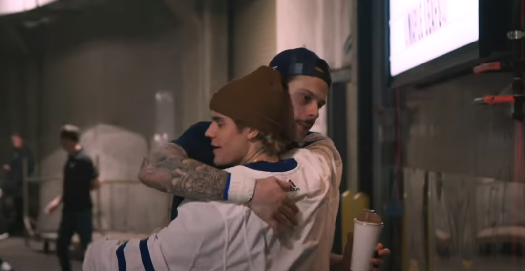 A look at the blossoming bromance of Auston Matthews and Justin Bieber