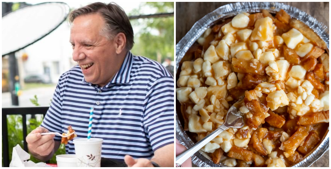 François Legault says he found the best poutine in Quebec