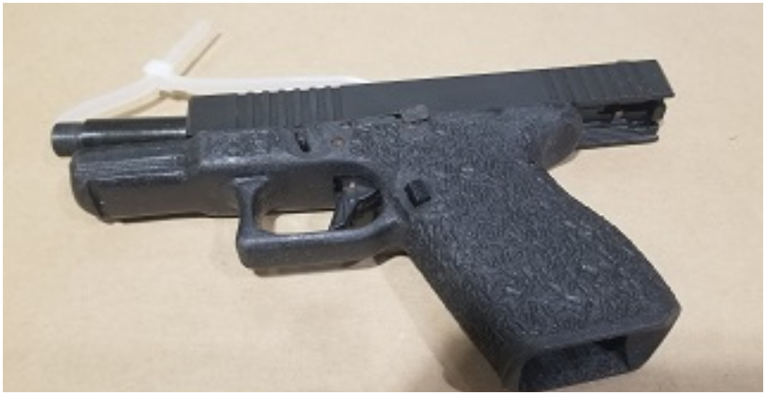 Surrey RCMP arrest man with loaded handgun and jerrycan