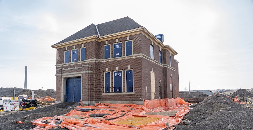 This entire 100-year-old Toronto fire hall is being moved