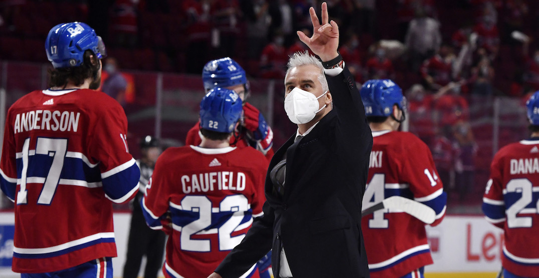 Canadiens sign head coach Ducharme to three-year contract extension