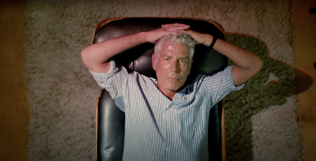 New Anthony Bourdain documentary being released this week