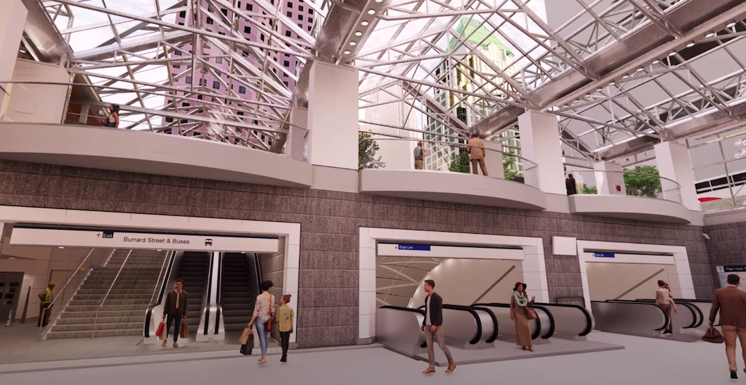 SkyTrain Burrard Station to close for two years starting in 2022 for expansion