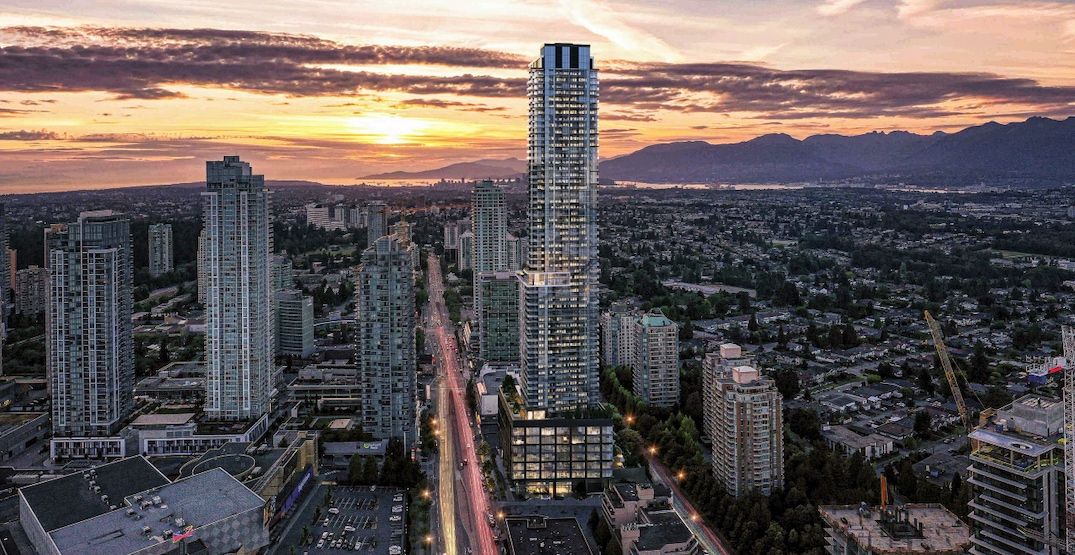 New renderings of Metro King: one of Metro Vancouver's future tallest towers
