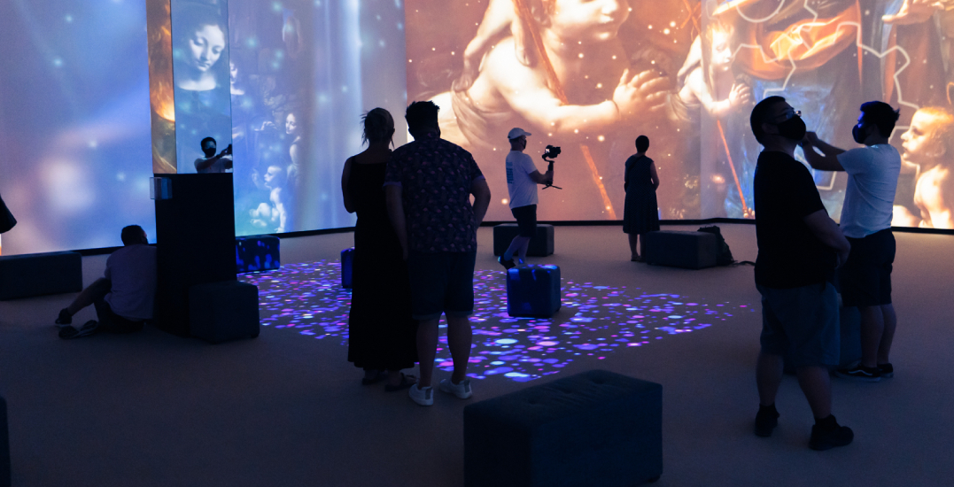 The fully immersive Da Vinci Experience has arrived in Vancouver