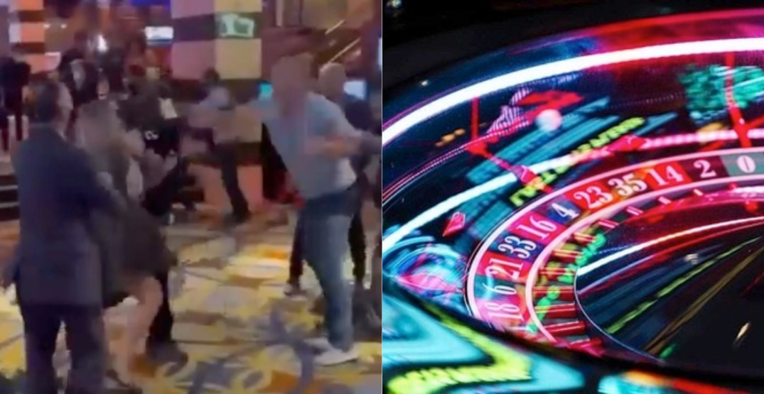 At least 5 people involved in brawl inside Burnaby casino (VIDEO)