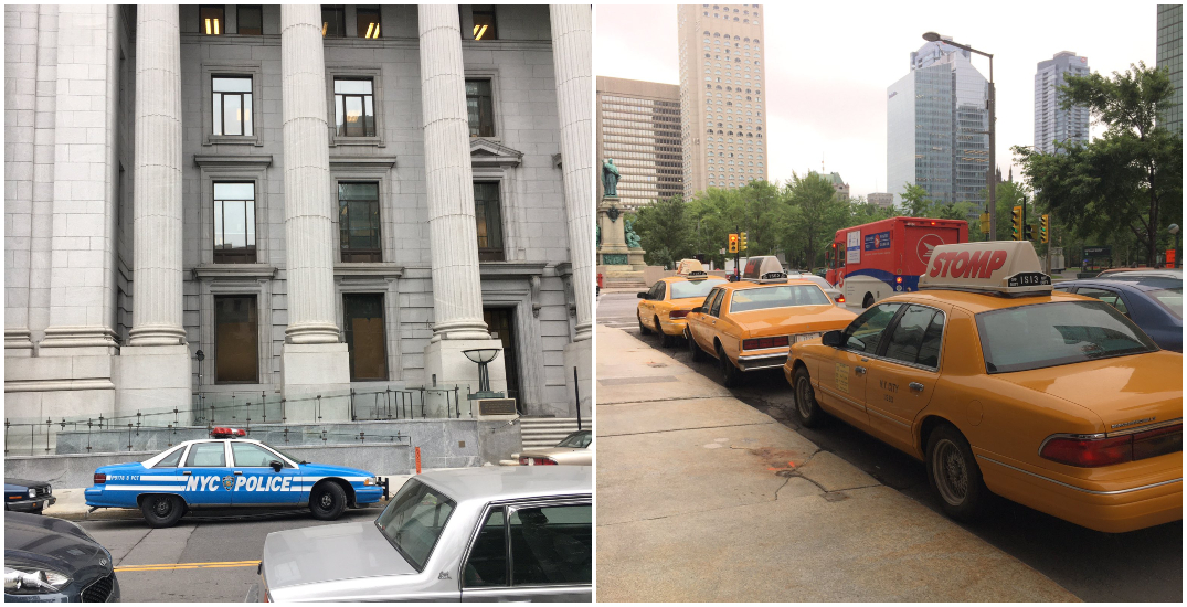 Downtown Montreal doubles as New York City on new movie set (PHOTOS)