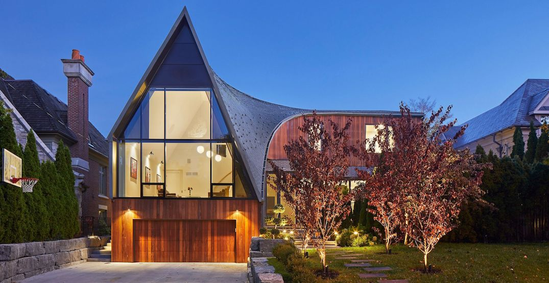 This curved Toronto house is what real estate dreams are made of