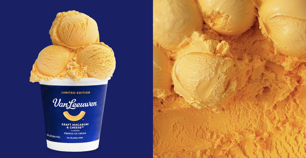 Kraft Macaroni & Cheese Ice Cream exists and we don't know how to feel