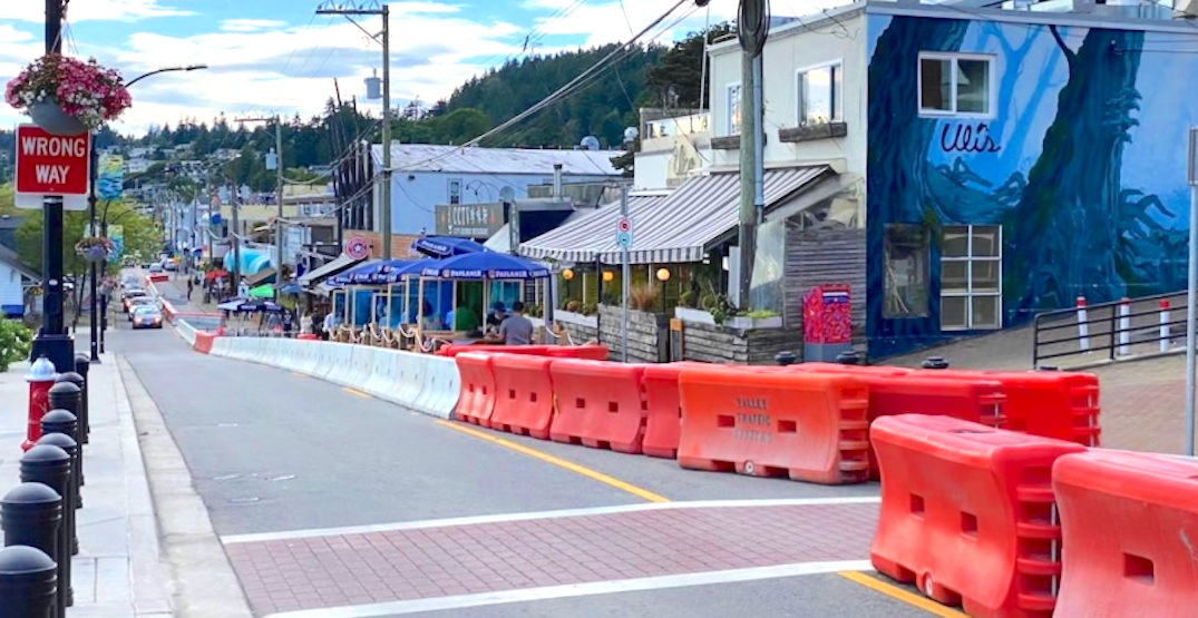 Marine Drive lane closure for restaurant patios to end after businesses report losses