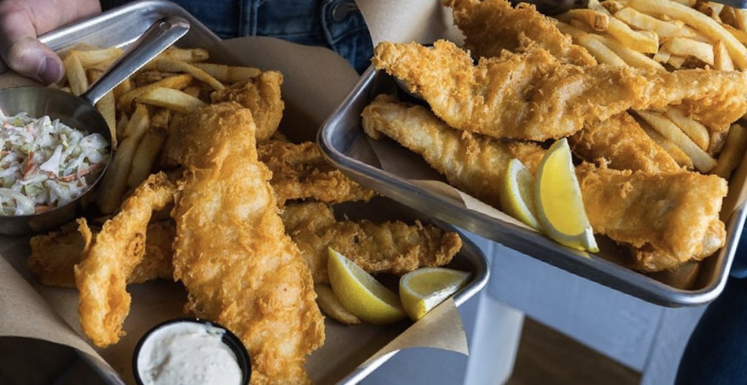 Joey's Fish Shack offers All-You-Can-Eat fish and chips on Tuesdays