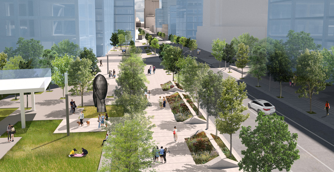 New proposal would turn part of high-speed Toronto road into a linear park