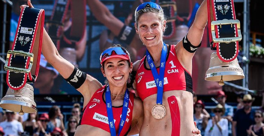 Canadians Humanas-Paredes and Pavan among Olympic beach volleyball favourites