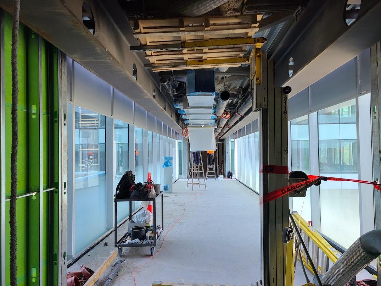 burrard place construction july 15 2021