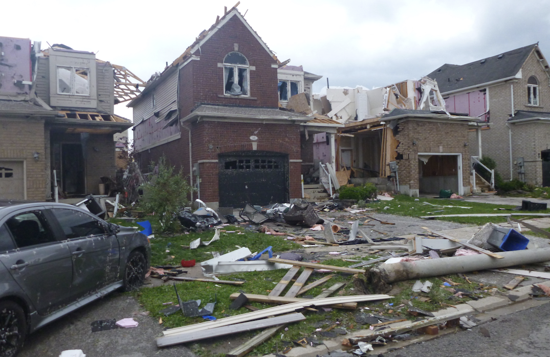 11 injured after tornado touches down causing significant damage in Barrie