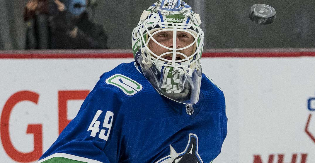 Canucks are buying out Braden Holtby's contract