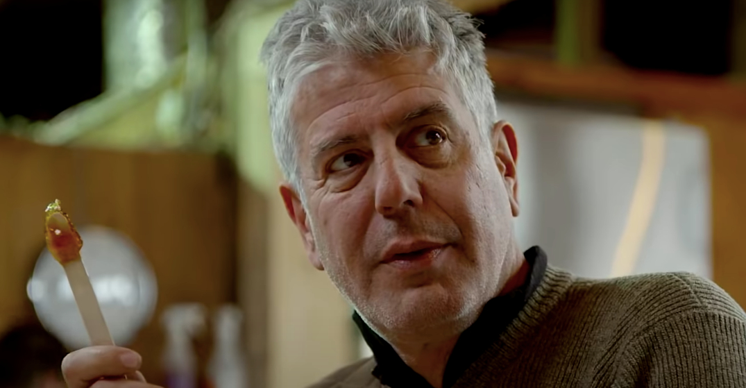 Remember when Anthony Bourdain came to Canada?