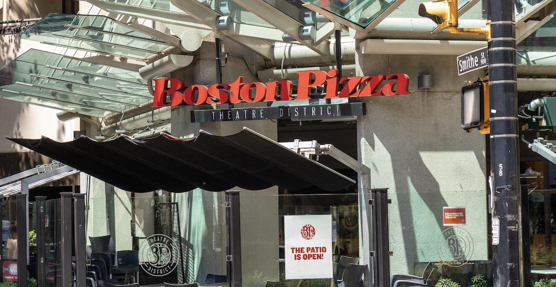 Boston Pizza closes its Theatre District location in Vancouver