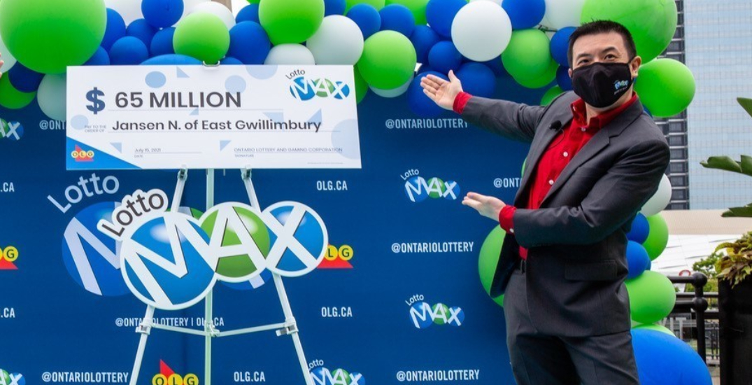 """""""A huge blessing"""": York region military vet wins $65M Lotto Max draw"""