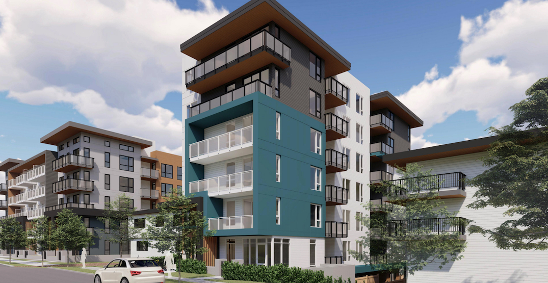 Rental housing building in North Vancouver with no parking approved by city
