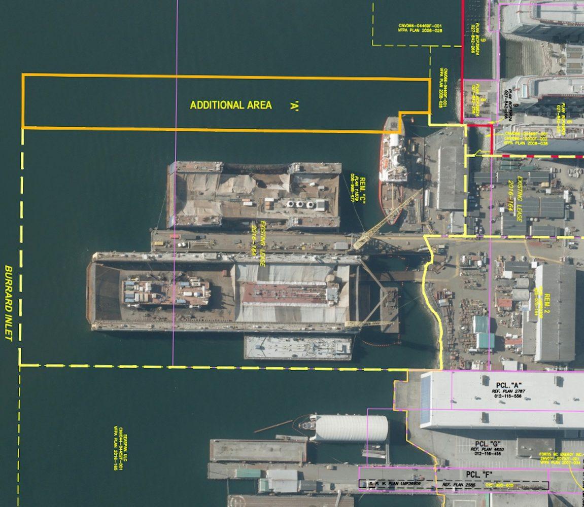 seaspan vancouver dry dock expansion