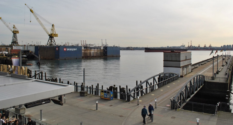 seaspan vancouver dry dock