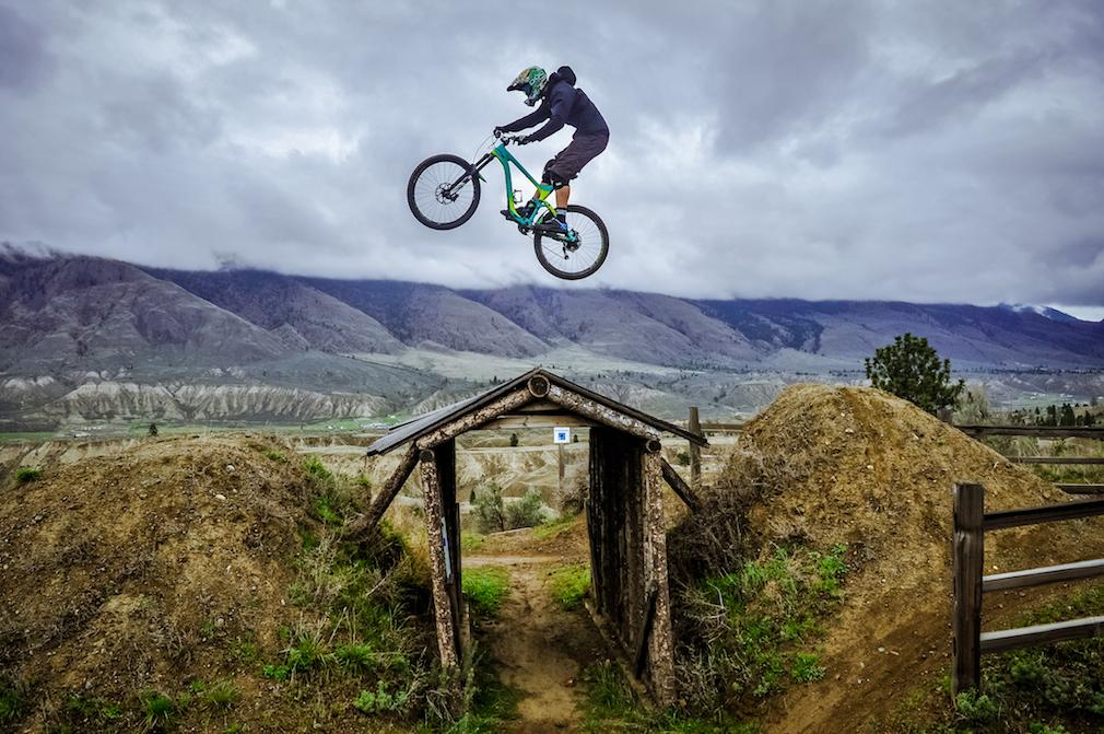 Mountain biking at Kamloops Bike Ranch