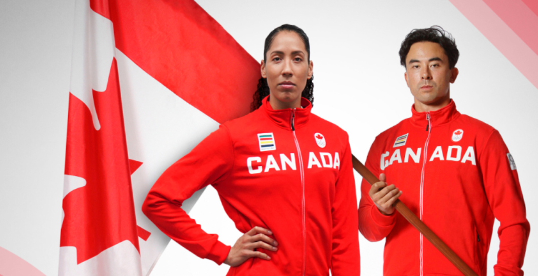 Here are Team Canada's opening ceremony flag bearers at the Tokyo Olympics