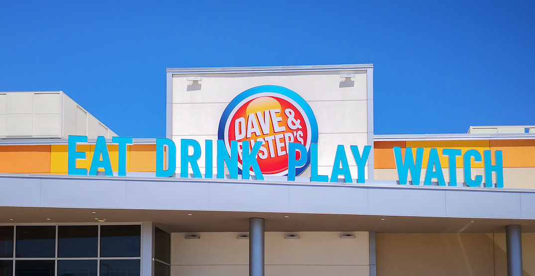Dave and Buster's to reopen Toronto area locations this week
