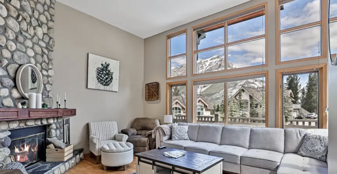 6 stunning homes for sale that are a short drive from Banff