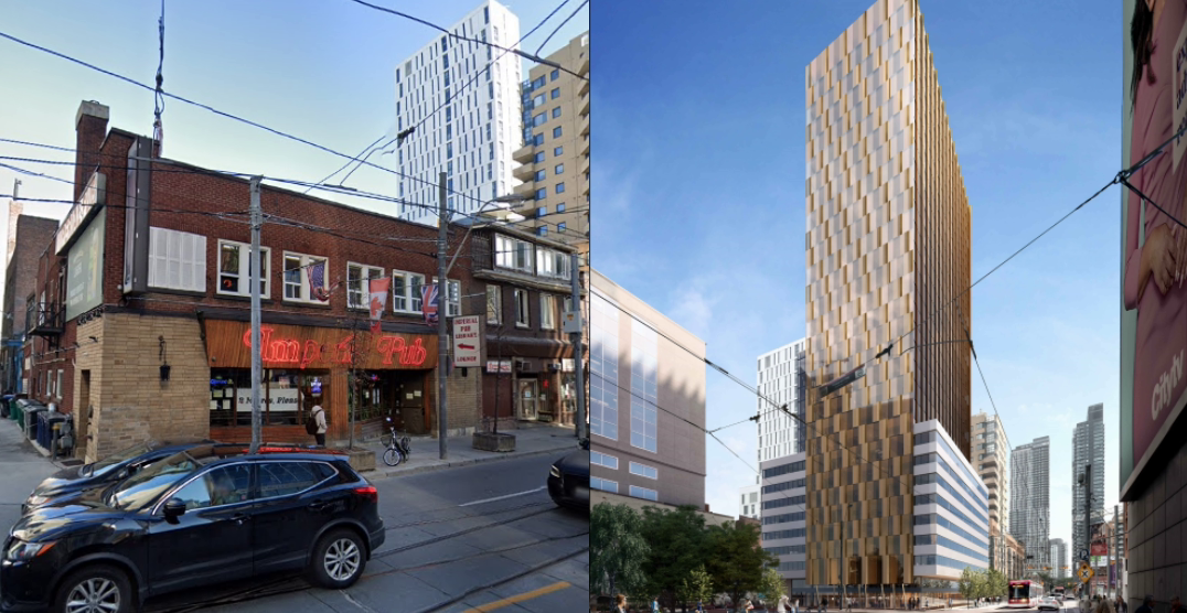 Toronto's Imperial Pub may soon be replaced by a 30-storey condo tower