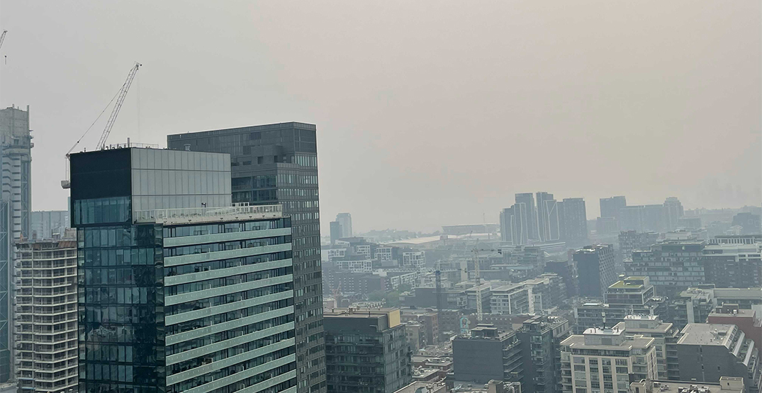 Southern Ontario is experiencing the worst air quality in almost 20 years