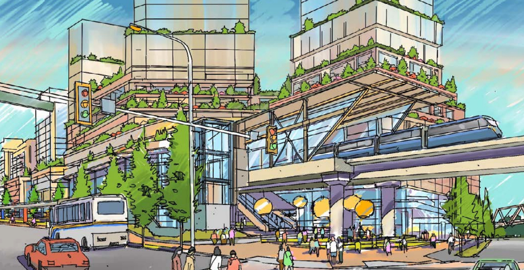 City pursuing redevelopment of area around SkyTrain's Sperling-Burnaby Lake Station