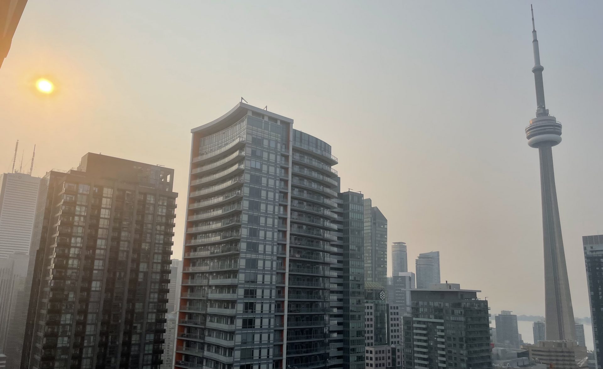Special air quality statement issued for Toronto due to forest fire smoke