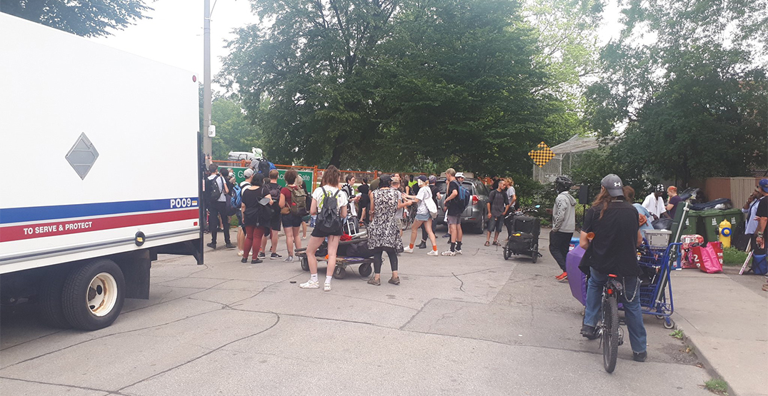 At least nine people arrested during Alexandra Park encampment evictions