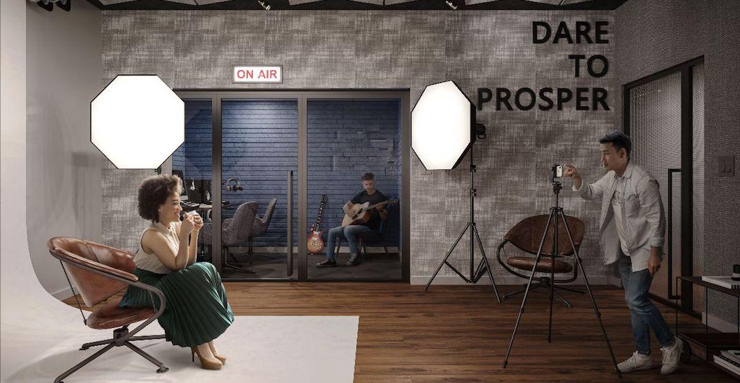 New Toronto condo building has a podcast studio and pet spa
