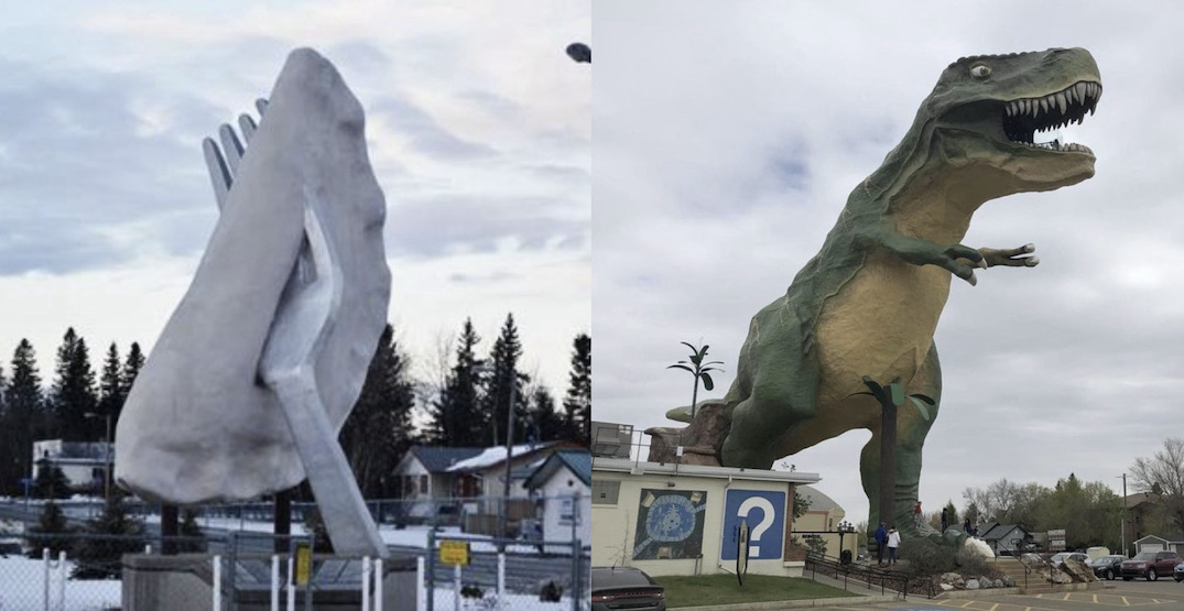 10 outrageous roadside attractions to check out in Alberta