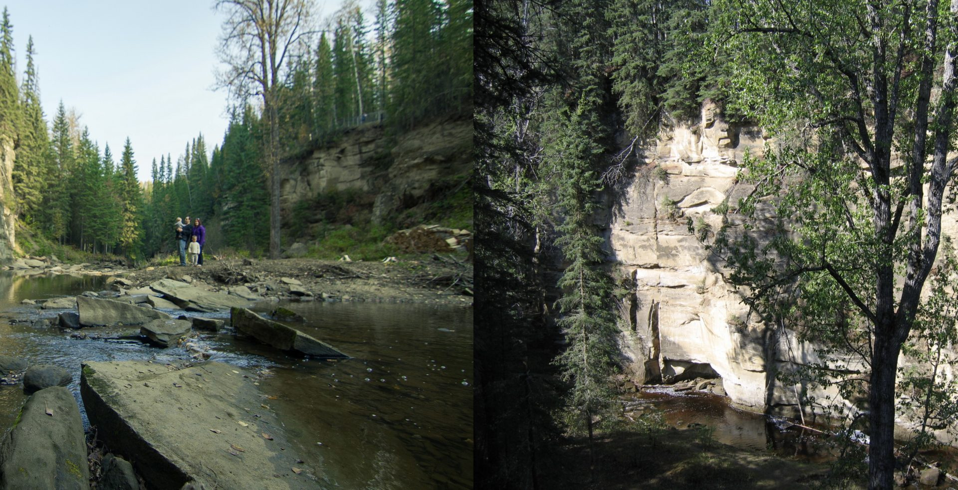 Whitecourt's Hard Luck Canyon is a must-visit just outside of Edmonton