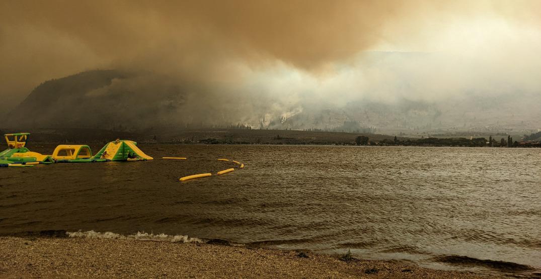 Wildfire smoke could soon begin to shroud Vancouver skies