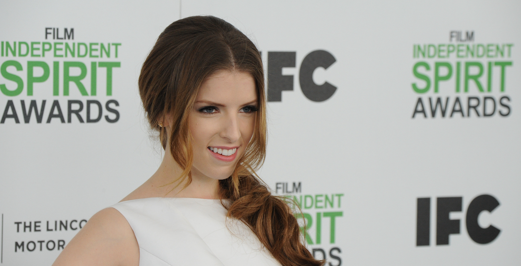 Anna Kendrick spotted filming her new movie in downtown Toronto